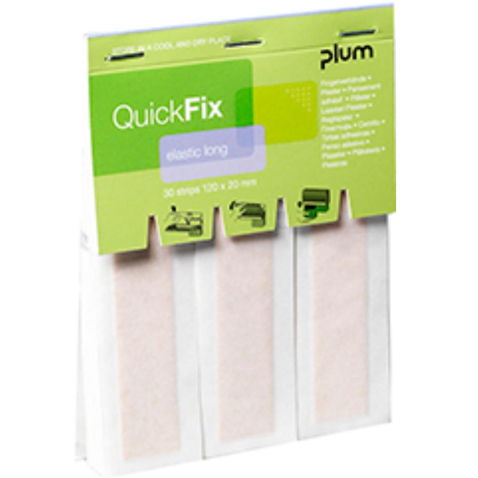 Navulling PLUM QuickFix Textiel - LV, 120 x 25 mm