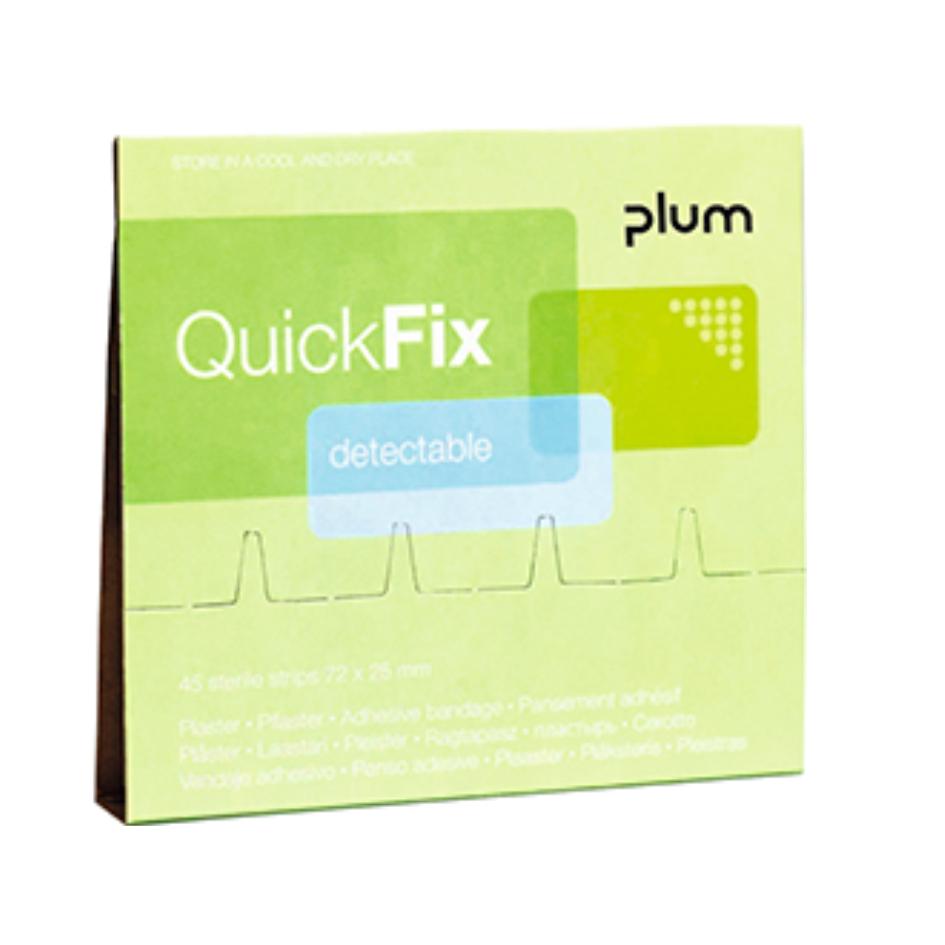 Navulling PLUM QuickFix Plastic detecteerbare pleisters - HACCP