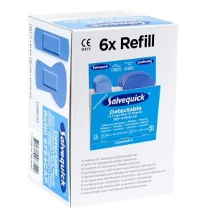 6-pack Salvequick navulling 6754  - HACCP detecteerbaar