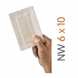 HEKA plast Border 6 x 10 cm - Non-woven Eilandpleisters - steriel