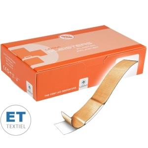 Loovi pleisters ET elastische textiel - 180 x 20 mm