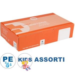 Loovi kinderpleisters PE - 100 stuks (waterafstotend) - Assorti