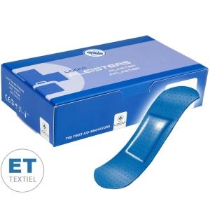 Loovi pleisters ET blauw detecteerbaar - 25 x 72mm