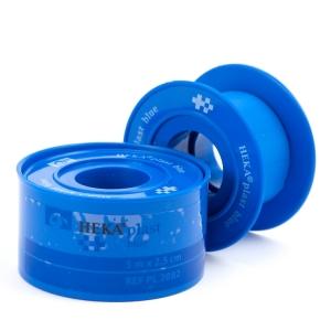HEKA plast Blue hechtpleister 5 m. x 2,5 cm