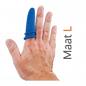 HEKA Fingerbobs - blauw, per 5 stuks