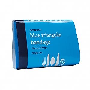 MasterChef driekante doek Blauw