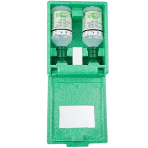 Plum stofdichte wandbox incl. 2 flessen oogspoeling 500 ml.