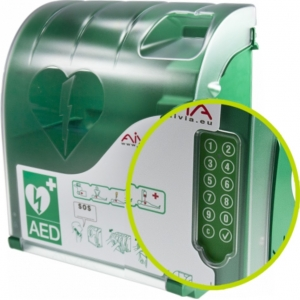 AED (binnen) wandkast Aivia 210 met PIN en alarm