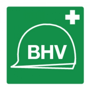BHV Pictogram - sticker