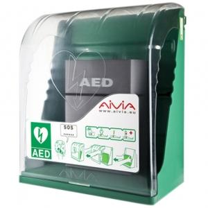 AED (binnen) wandkast Aivia 000 S met alarm