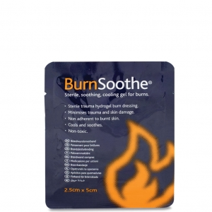 Burnsoothe brandwondenkompres 2,5 x 5 cm